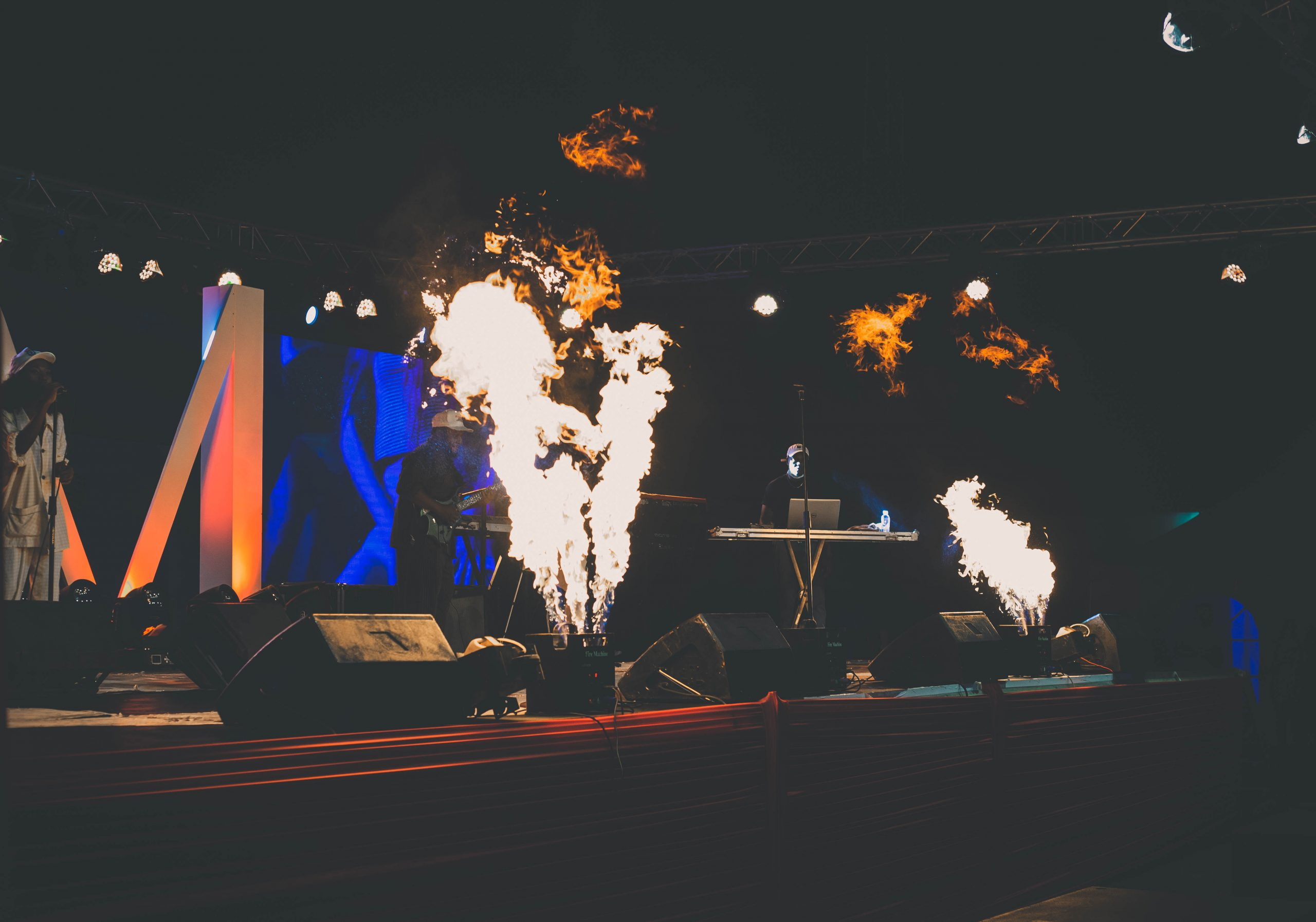 Gigkits acquire new state-of-the-art pyro equipment