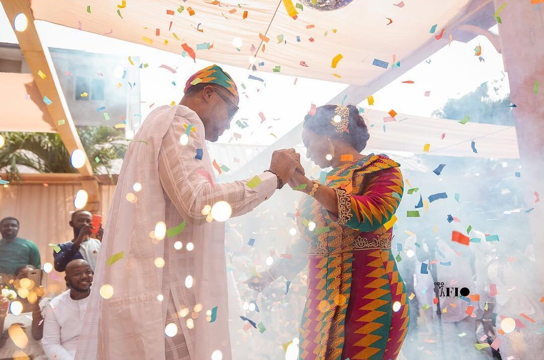 Adwoa Safo speaks after wedding to Hanny Mouhtiseb; releases more stunnning photos